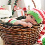 赤ちゃんのクリスマス